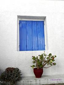 Blue....all over.Skiathos