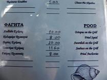 the perfect menu